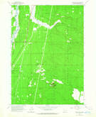 Download a high-resolution, GPS-compatible USGS topo map for Finley Butte, OR (1965 edition)