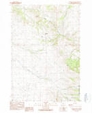Download a high-resolution, GPS-compatible USGS topo map for Flowers Gulch, OR (1990 edition)