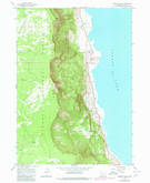 Download a high-resolution, GPS-compatible USGS topo map for Fremont Point, OR (1980 edition)