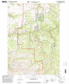 Download a high-resolution, GPS-compatible USGS topo map for Graylock Butte, OR (2000 edition)