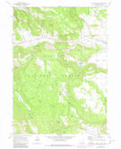 Download a high-resolution, GPS-compatible USGS topo map for Horse Prairie, OR (1980 edition)