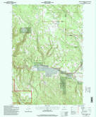 Download a high-resolution, GPS-compatible USGS topo map for Lehman Springs, OR (1998 edition)
