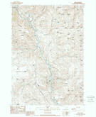 Download a high-resolution, GPS-compatible USGS topo map for Lime, OR (1988 edition)