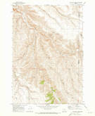 Download a high-resolution, GPS-compatible USGS topo map for Lone Rock Creek, OR (1973 edition)