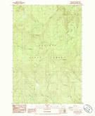 Download a high-resolution, GPS-compatible USGS topo map for Nicolai Mtn, OR (1985 edition)