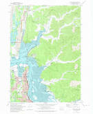 Download a high-resolution, GPS-compatible USGS topo map for North Bend, OR (1974 edition)