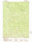 Download a high-resolution, GPS-compatible USGS topo map for Oregon Caves, OR (1986 edition)