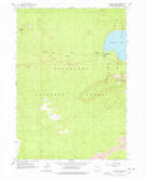 Download a high-resolution, GPS-compatible USGS topo map for Paulina Peak, OR (1978 edition)