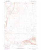 Download a high-resolution, GPS-compatible USGS topo map for Rabbit Hills NW, OR (1980 edition)