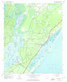 Download a high-resolution, GPS-compatible USGS topo map for Brookgreen, SC (1974 edition)