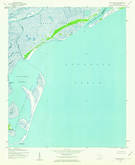 Download a high-resolution, GPS-compatible USGS topo map for Cape Romain, SC (1962 edition)