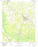 Download a high-resolution, GPS-compatible USGS topo map for Holly Hill, SC (1980 edition)