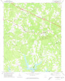 Download a high-resolution, GPS-compatible USGS topo map for Little Mountain, SC (1974 edition)
