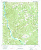 Download a high-resolution, GPS-compatible USGS topo map for Lowndesville, SC (1989 edition)