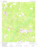 Download a high-resolution, GPS-compatible USGS topo map for New Ellenton SW, SC (1981 edition)