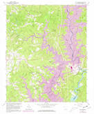 Download a high-resolution, GPS-compatible USGS topo map for Old Pickens, SC (1981 edition)