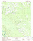 Download a high-resolution, GPS-compatible USGS topo map for Pineland, SC (1988 edition)