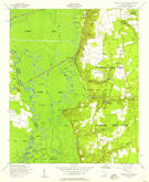 Download a high-resolution, GPS-compatible USGS topo map for Poinsett State Park, SC (1957 edition)