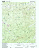 Download a high-resolution, GPS-compatible USGS topo map for Standingstone Mtn, SC (2001 edition)