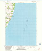 Download a high-resolution, GPS-compatible USGS topo map for Algoma NE, WI (1983 edition)