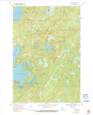 Download a high-resolution, GPS-compatible USGS topo map for Alvin NW, WI (1991 edition)