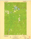 Download a high-resolution, GPS-compatible USGS topo map for Amnicon Lake, WI (1955 edition)