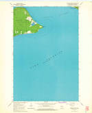 Download a high-resolution, GPS-compatible USGS topo map for Amnicon Point, WI (1965 edition)