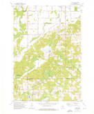 Download a high-resolution, GPS-compatible USGS topo map for Aniwa, WI (1976 edition)