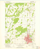 Download a high-resolution, GPS-compatible USGS topo map for Antigo, WI (1976 edition)