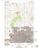 Download a high-resolution, GPS-compatible USGS topo map for Appleton, WI (1996 edition)