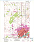 Download a high-resolution, GPS-compatible USGS topo map for Appleton, WI (1984 edition)