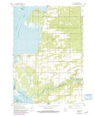 Download a high-resolution, GPS-compatible USGS topo map for Arkdale, WI (1991 edition)