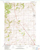 Download a high-resolution, GPS-compatible USGS topo map for Arlington, WI (1984 edition)