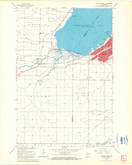 Download a high-resolution, GPS-compatible USGS topo map for Ashland West, WI (1965 edition)