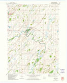 Download a high-resolution, GPS-compatible USGS topo map for Astico, WI (1981 edition)