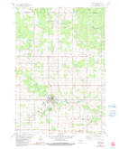 Download a high-resolution, GPS-compatible USGS topo map for Athens, WI (1991 edition)