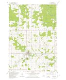 Download a high-resolution, GPS-compatible USGS topo map for Athens, WI (1980 edition)