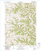 Download a high-resolution, GPS-compatible USGS topo map for Avalanche, WI (1985 edition)