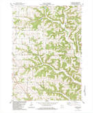 Download a high-resolution, GPS-compatible USGS topo map for Avalanche, WI (1983 edition)