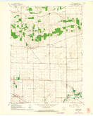 Download a high-resolution, GPS-compatible USGS topo map for Avalon, WI (1964 edition)