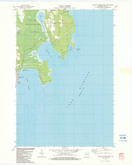 Download a high-resolution, GPS-compatible USGS topo map for Baileys Harbor East, WI (1983 edition)