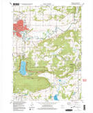 Download a high-resolution, GPS-compatible USGS topo map for Baraboo, WI (1999 edition)