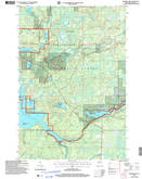 Download a high-resolution, GPS-compatible USGS topo map for Barker Lake, WI (2006 edition)