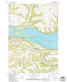 Download a high-resolution, GPS-compatible USGS topo map for Bay City, WI (1994 edition)