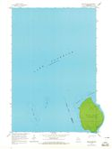 Download a high-resolution, GPS-compatible USGS topo map for Bear Island, WI (1965 edition)