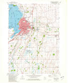 Download a high-resolution, GPS-compatible USGS topo map for Beaver Dam, WI (1981 edition)