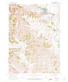 Download a high-resolution, GPS-compatible USGS topo map for Belleville, WI (1972 edition)