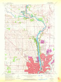 Download a high-resolution, GPS-compatible USGS topo map for Beloit, WI (1972 edition)