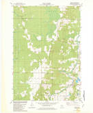 Download a high-resolution, GPS-compatible USGS topo map for Bevent, WI (1982 edition)
