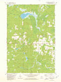 Download a high-resolution, GPS-compatible USGS topo map for Big Briens Lake, WI (1980 edition)